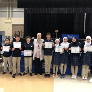 Sabeel Students Compete in First Math Meet