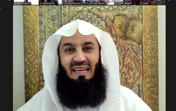 Mufti Menk Visits As-Sabeel