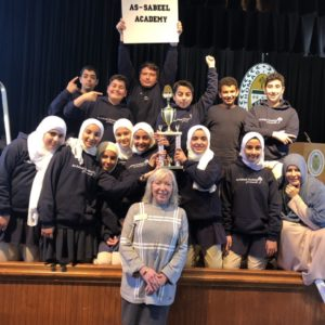 MS Book Club Takes 1st Place at SCISA State Battle of the Books
