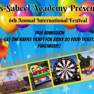 International Festival Slated for November 9th!