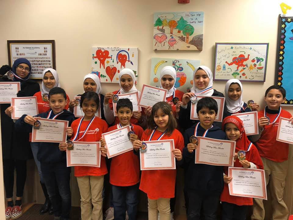 Spelling Bee Finalists Headed to the SCISA Regional Spelling Bee