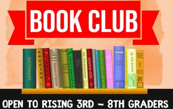 Book Club 2021-2022 for Rising 3rd – 8th Graders